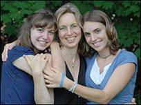 NPR photo 2007, Tiama, SuEllen, Frani